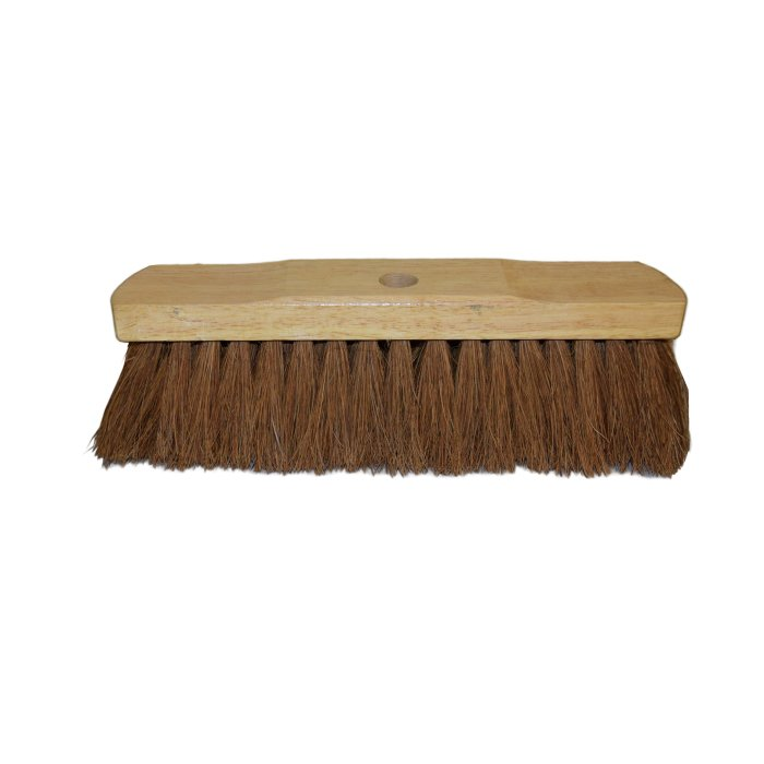 3500 - SWEEPING BROOM 30CM NATURAL COCO FILL EXTRA